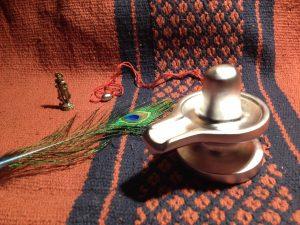 Shiva-Shakti Abhrak Siddha Durga Gutika (with Rasa Linga bead gift